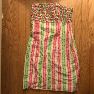 Lilly Pulitzer seersucker dress size 2